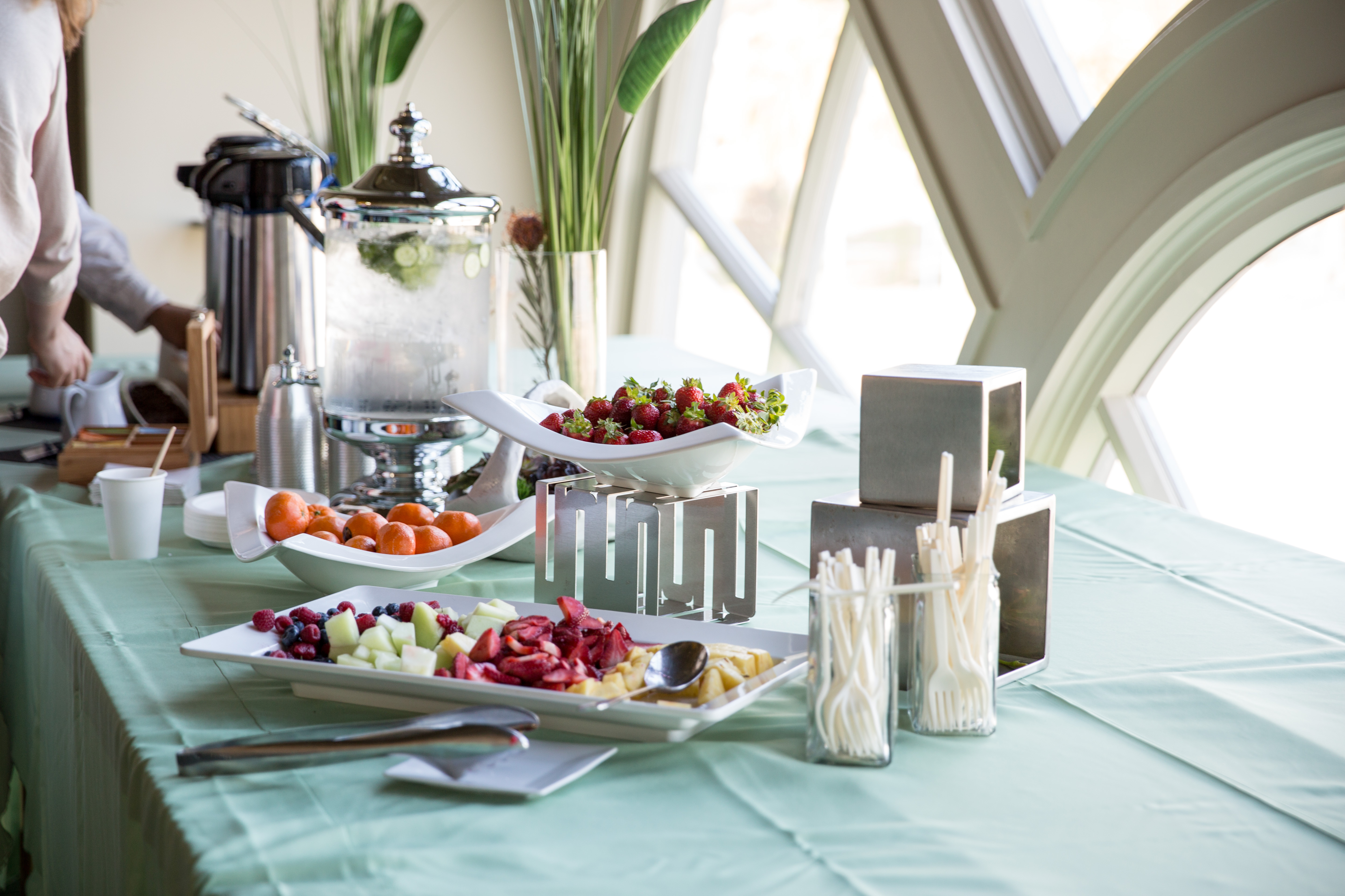 Importance Of Table Setting Food At Work Setting The Table For A Healthy Workforce Huffpost
