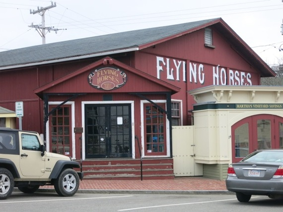 Top 15 insider things to do on marthas vineyard huffpost 2014 05 23 flyinghorsescarouseloakbluffsmag publicscrutiny Images