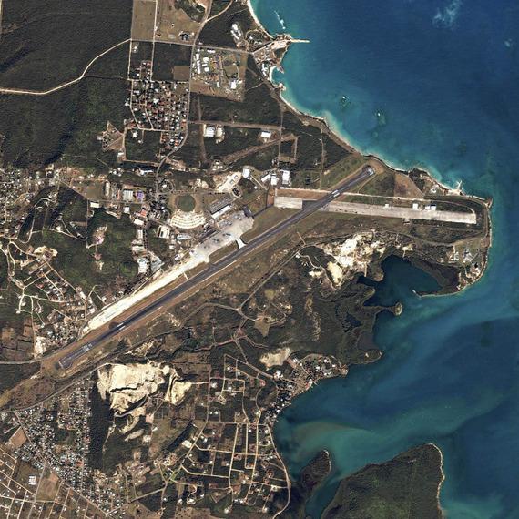 Antigua Air Station © Mishka Henner