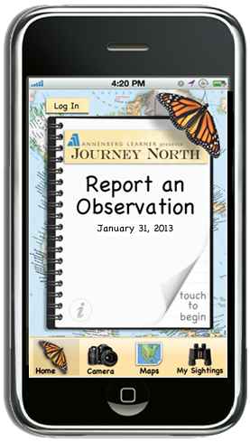 Journey North app