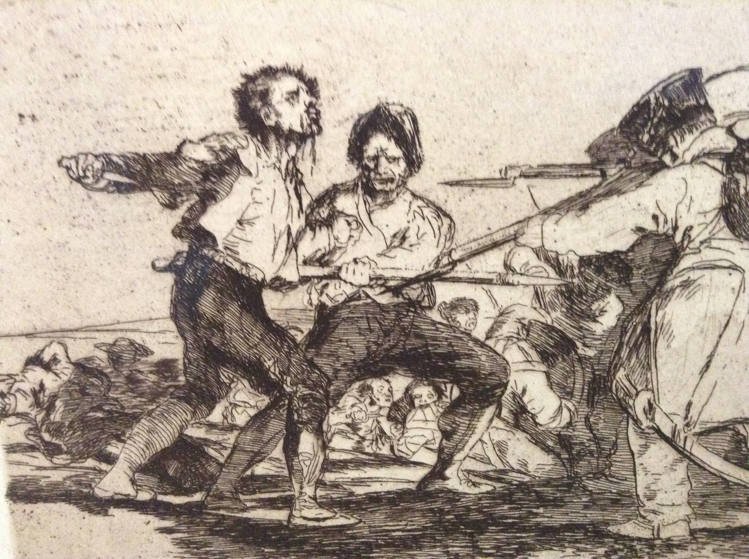 the art of war goya and The chapmans' set of goya's etchings was published in 1937 as a protest against fascist crimes during the spanish civil war, but it is not considered an original.