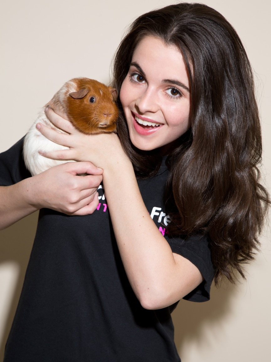Switched at Birth Star Vanessa Marano Wants You to Switch to Cruelty    Vanessa Marano Switched At Birth 2014