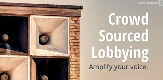 Amplifyd: Crowd-Sourced Lobbying Launches Website
