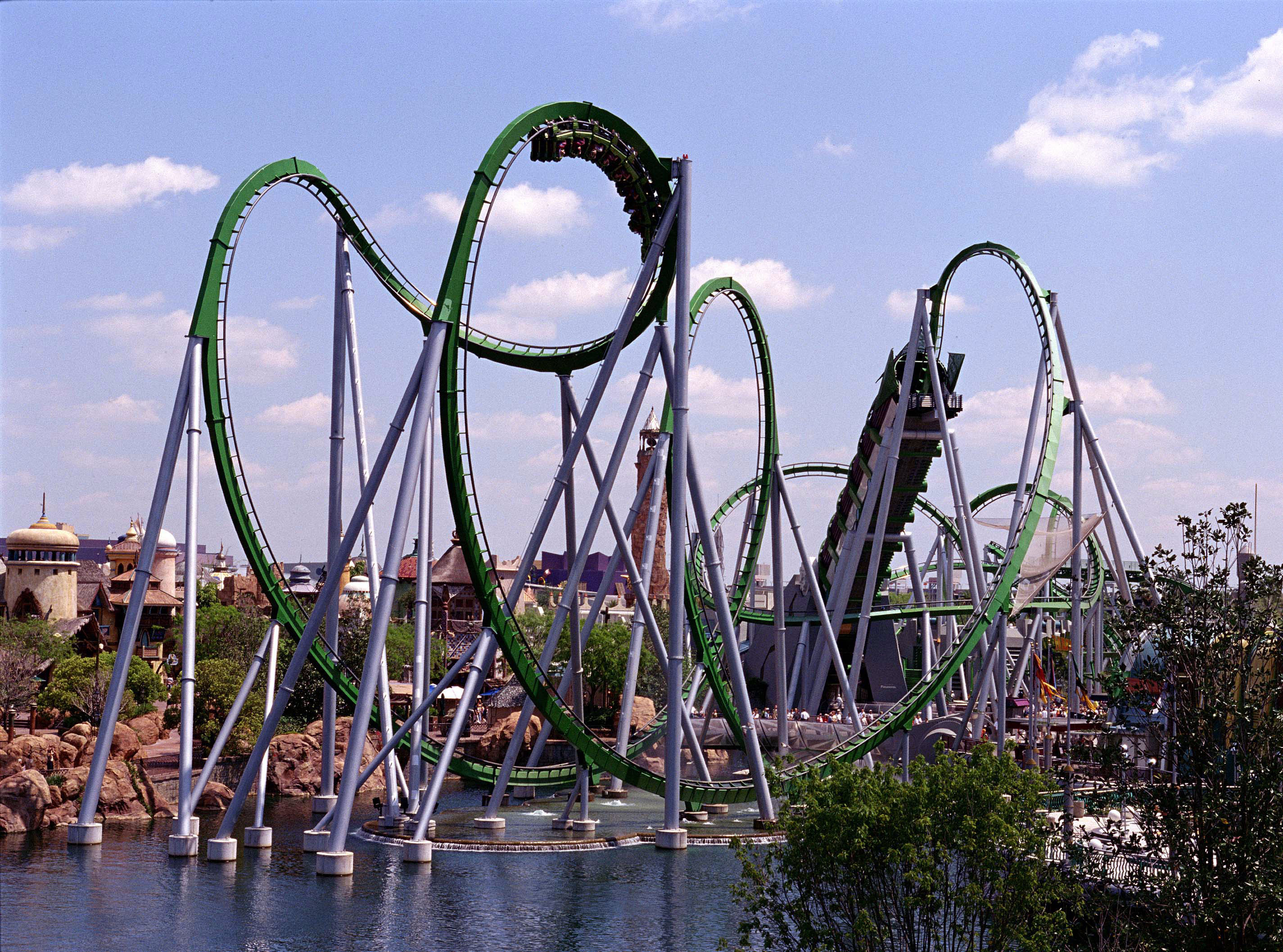 Thrill Rides Orlando S Top Roller Coasters Huffpost