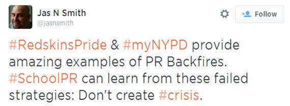 2014-06-03-RedskinsPridemyNYPDprovideamazingexamplesofPRBackfires.SchoolPRcanlearnfromthesefailedstrategiesDontcreatecrisis.png