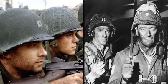 D Day Invasion Saving Private Ryan 70 Years Later, Which ...
