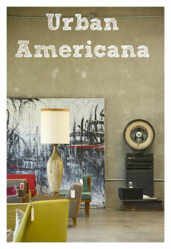 Urban Americana West Coast Vintage Design