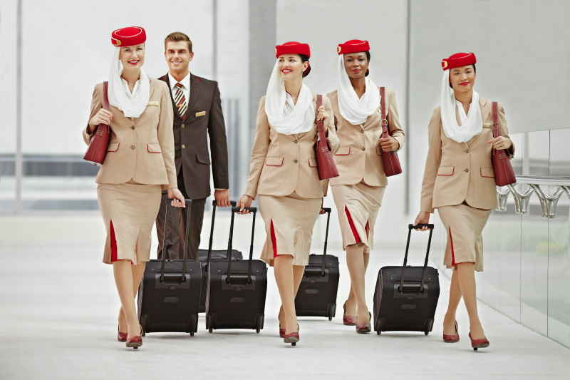 we rank flight attendant uniforms from worst to sexiest huffpost life. Black Bedroom Furniture Sets. Home Design Ideas