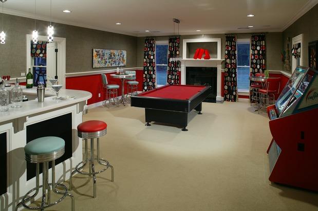 garage game ideas - Garage Game Room Decorating Ideas