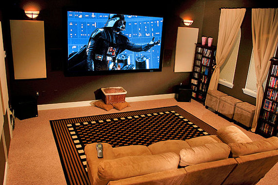 Garage Man Cave Projector : 10 man cave ideas your father always dreamed of huffpost