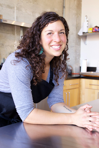 Chef Callie Waldman, Corporate Chef at BandPage, also does consulting for startups interested in building food programs.