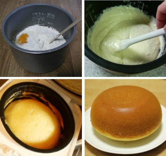 How to make ginormous fluffy pancakes with your rice cooker huffpost 2014 06 17 pancakesricecookerg ccuart Gallery