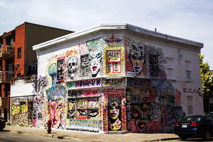 Montreal arts festival keeps the quality for year two for Art mural montreal