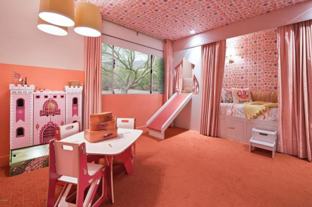 5 homes that are pretty in pink huffpost - Most beautiful girls rooms ...