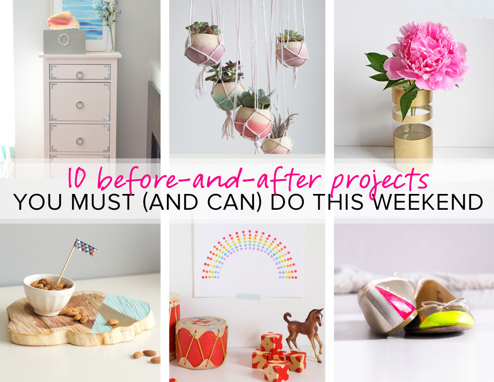 10 Before-and-After Projects You Can Do This Weekend ...