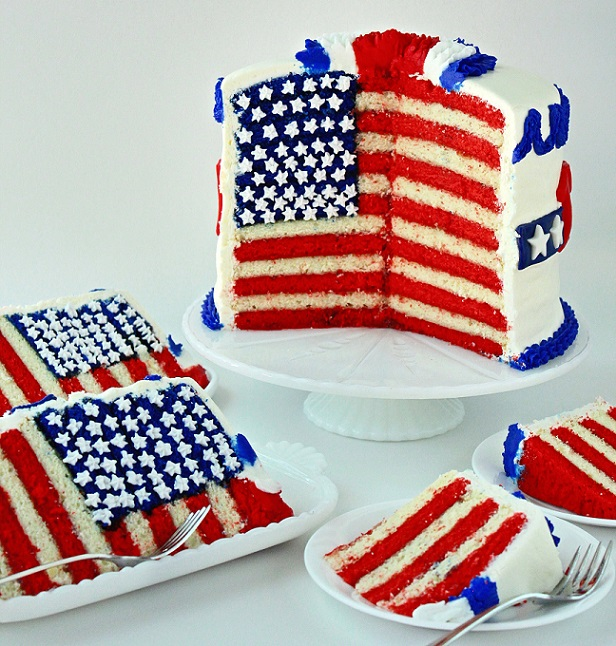 Top 4 Fourth of July Cakes