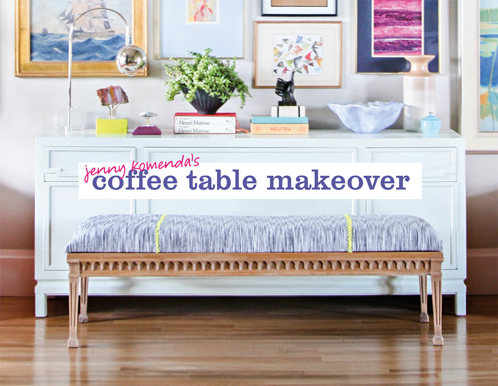 Swell Give Your Coffee Table A Makeover In Just 7 Steps Evergreenethics Interior Chair Design Evergreenethicsorg