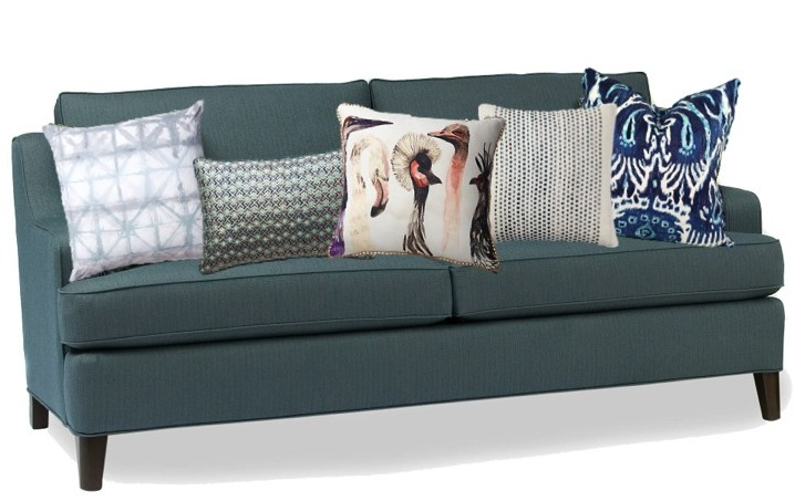 throw pillows: 4 tips to style your sofa | huffpost