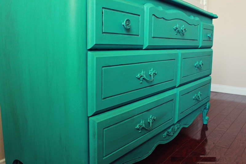 Oil Painting On Wood Furniture