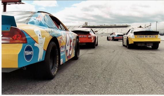2014-07-07-NASCARcarsfrombehind.JPG
