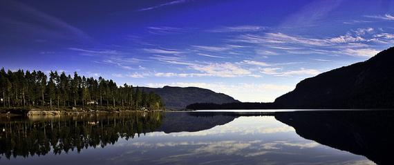 Biglandsfjord - Evje - Norway