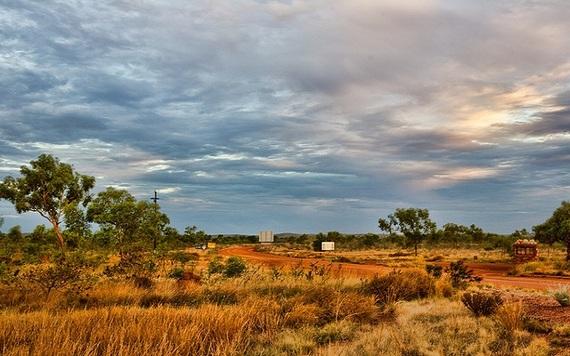 Tanami Road in Australia
