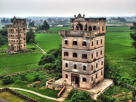 Kaiping Diaolou, Guangdong
