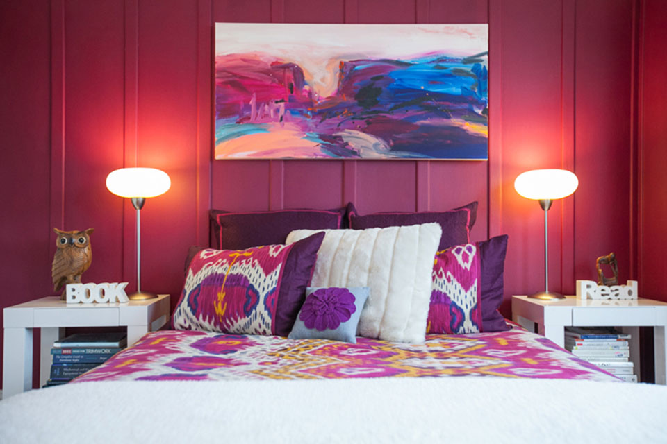 6 Tips For Using Bold Color In The Home HuffPost