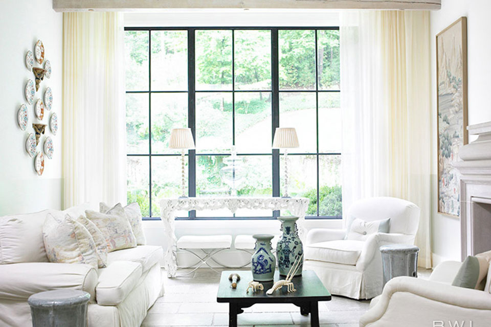 All White Interiors 7 all white interiors that deliver a fresh look | huffpost