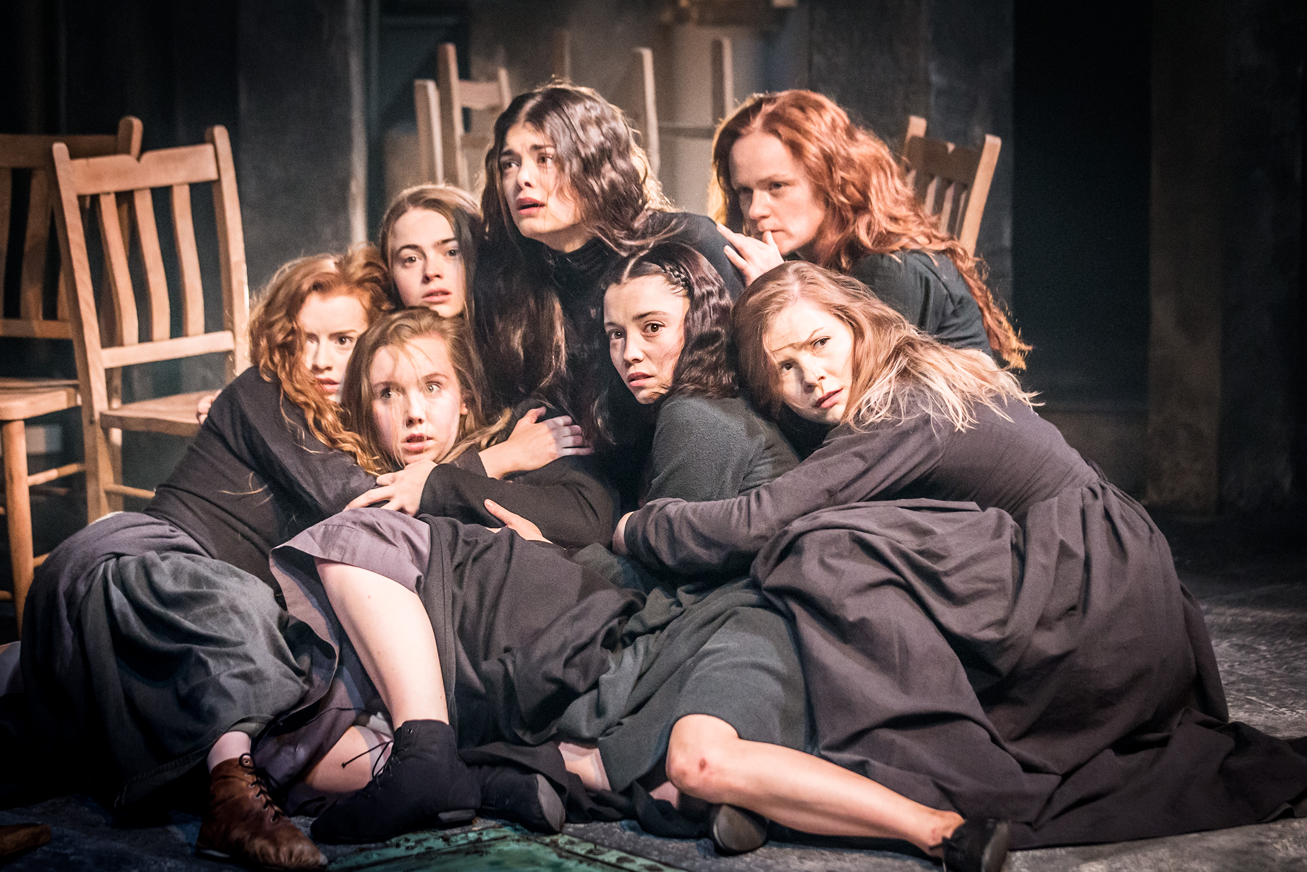 a review of the play the crucible The hollywood reporter movies tv business style politics  'the crucible': theater review  while the crucible is a very different play from a view from the bridge, which the belgian.