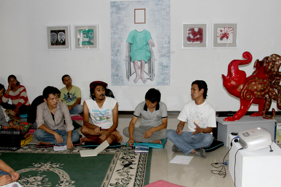 Nepali Artists on Socio-Political Dimensions of Art