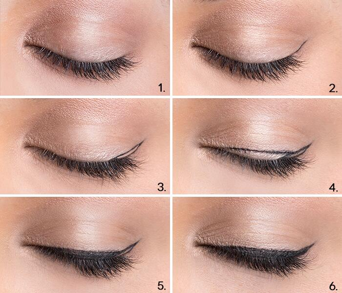 6 Steps To The Purrfect Cat Eye Huffpost Life