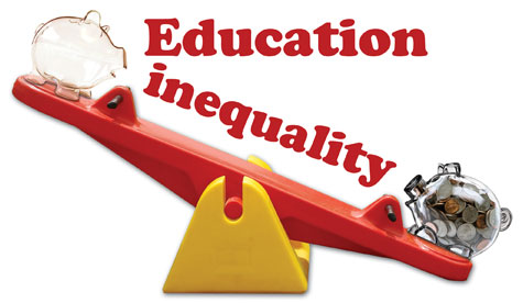 education inequality in america The latest innocenti report card raises concerns about the impact of inequality on the most disadvantaged children in high income countries in 19 out of 41 countries studied, the poorest 10 per.