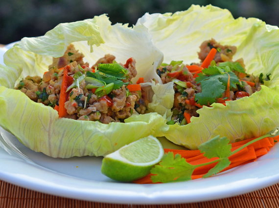 8 easy thai style dishes you can make at home huffpost 2014 07 27 thaichickenlettucecupsg forumfinder Gallery