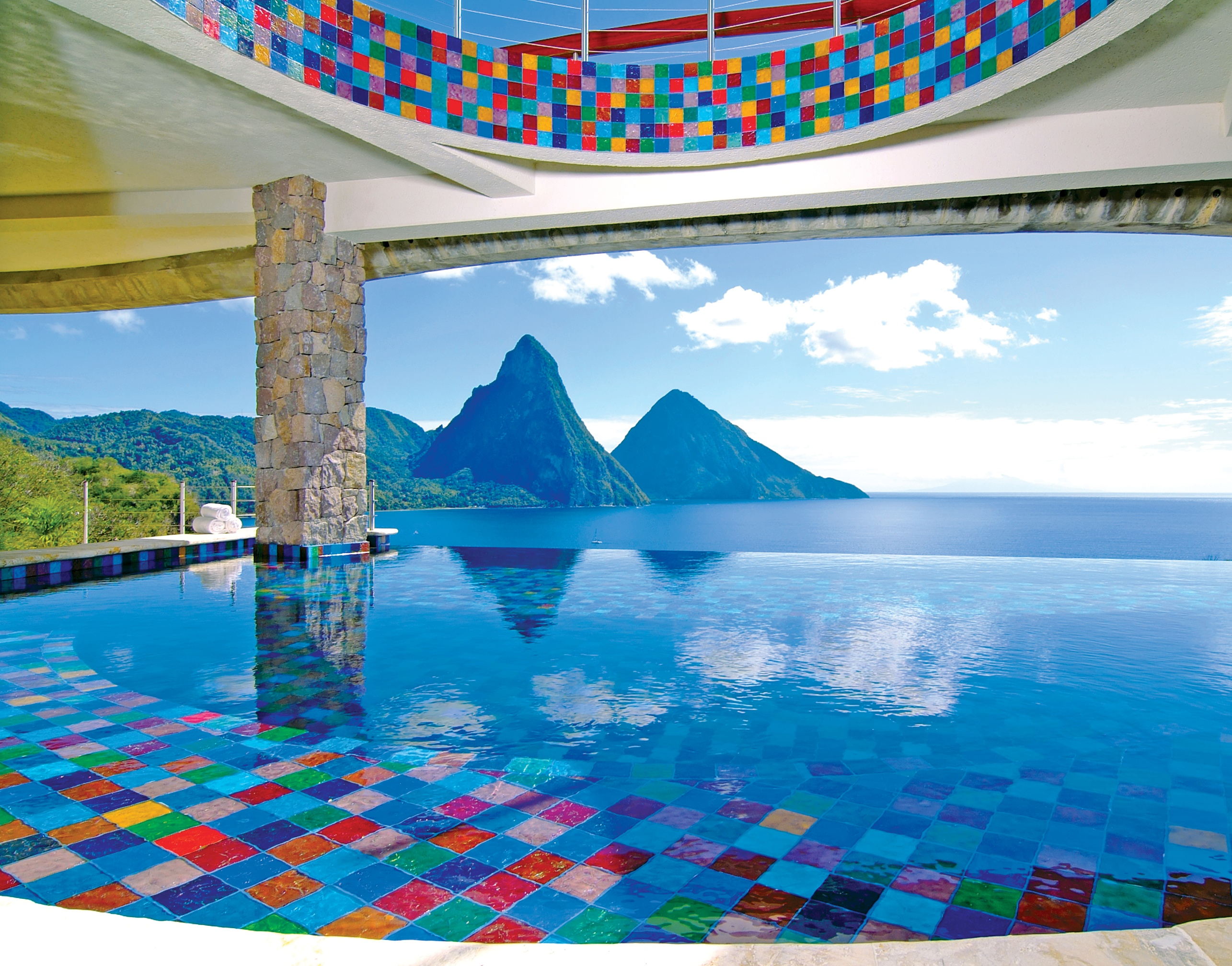 8 infinity pools you have to see to believe huffpost 2014 07 27 st lucia huffpo jpg