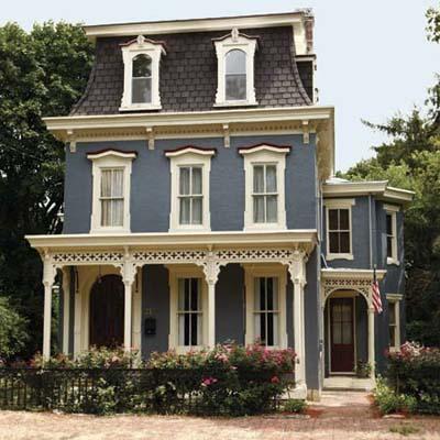 Historic Second Empire House Plans