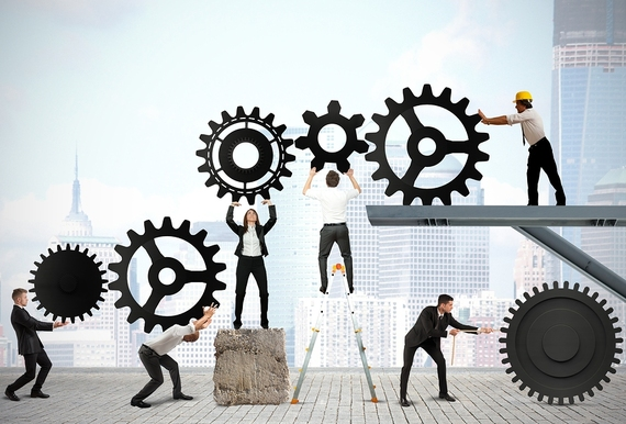 Teamwork of Business