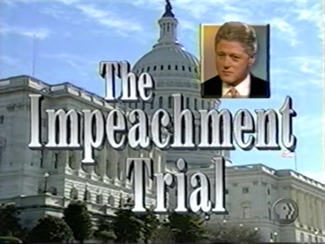 clinton impeachment History has abandoned its planned scripted drama series from rj cutler based  on the bill clinton impeachment the breach: inside the.