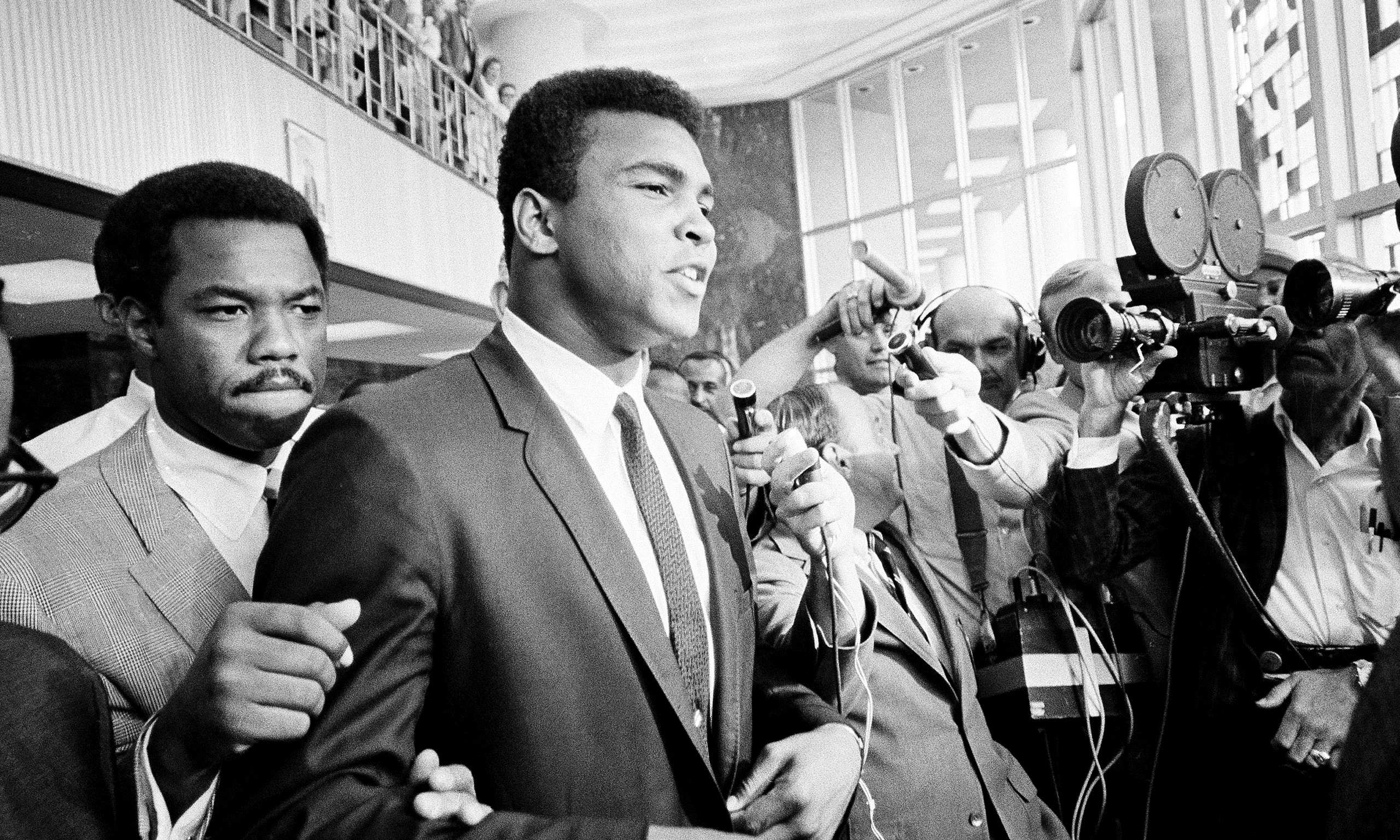 muhammad ali hero Two-time world heavyweight champion boxer george foreman joins mike & mike  to recall his memories of muhammad ali during the final years of his life.