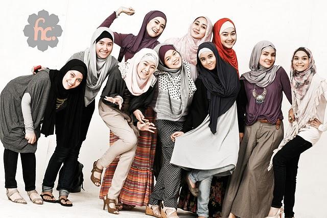 イスラム圏の女性の服装