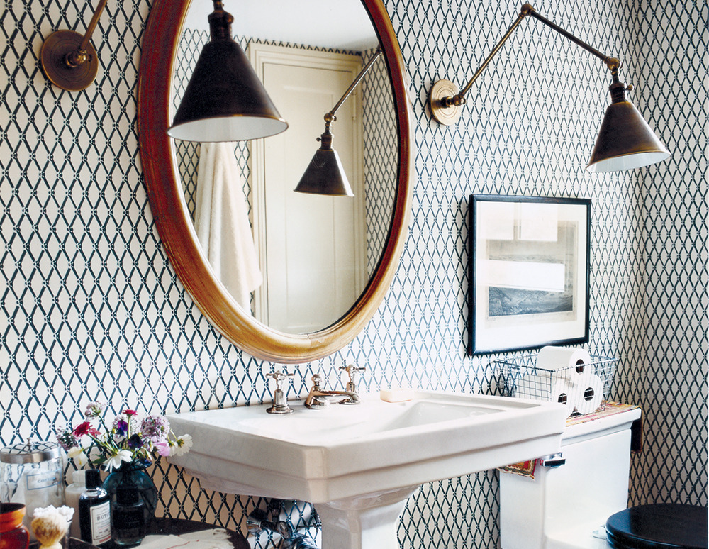 4 Ways to Make a Small Bathroom Feel Huge | HuffPost Life How To Make A Small Bathroom Work on decorate a bathroom, tank a bathroom, paint a bathroom,