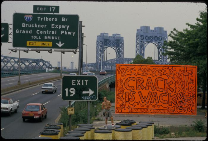 keith haring s is wack nyc s most mural huffpost