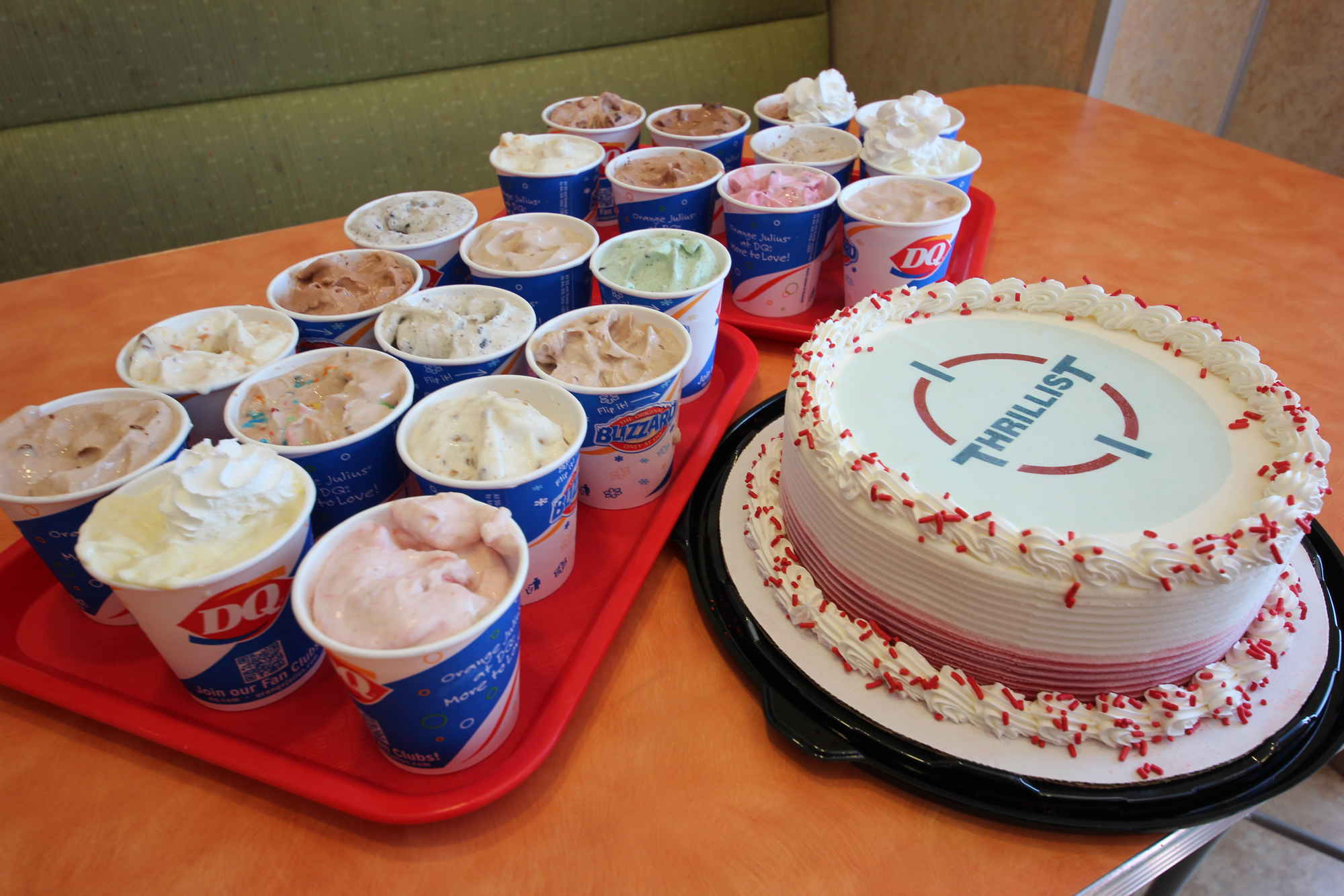 Strawberry Cheesecake Ice Cream Cake Dairy Queen