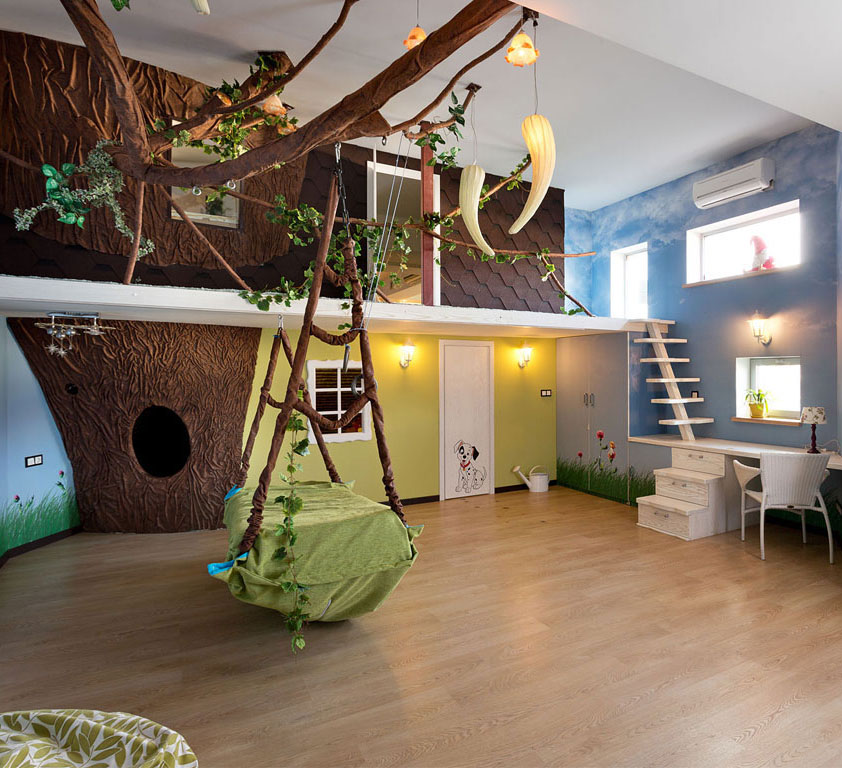 2014 08 06 5junglebedroom jpg. 10 Kid s Rooms That Make You Want to Be a Kid Again    HuffPost