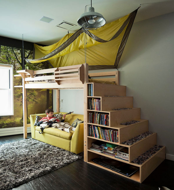 Bedroom Decor Styles Toddler Girl Bedroom Paint Ideas Cool Bedroom Wall Art Ideas Bunk Bed Bedroom Sets: 10 Kid's Rooms That Make You Want To Be A Kid Again
