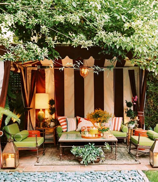 Backyard Living Room :  Brilliant Ideas to Design an Outdoor Living Room  The Huffington Post