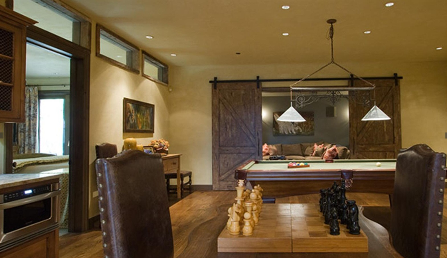 8 Rec Rooms To Inspire Your Next Game Night Huffpost