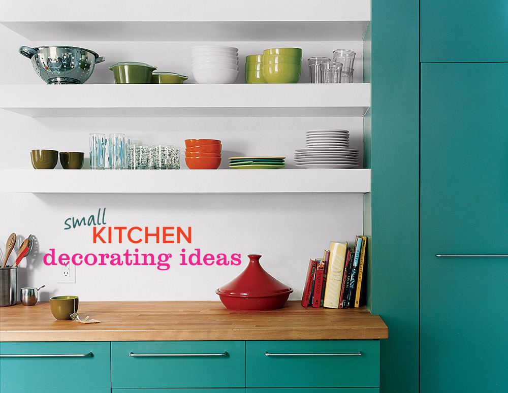 8 Amazing Small Kitchen Decorating Ideas Huffpost Life