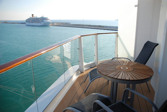 Cruise Balcony No No S Battle Of The Butts Huffpost