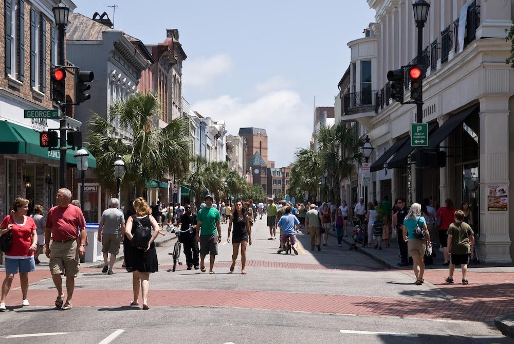 King Street Fashion District Charleston Sc